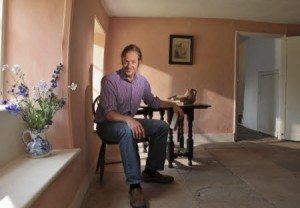 James Grasby, Curator, photographed at Hardy's Cottage, near Dorchester, Dorset.