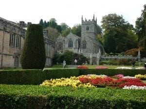 Lanhydrock, church and gardens