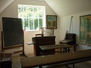 A village schoolroom