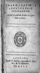 L0004054 Pharmacopoeia Londinensis Collegarum, title page.