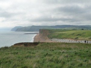 Jurassic Coast near West Bay