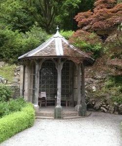 Gazebo in the gardens